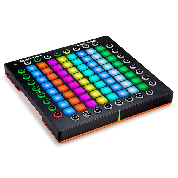 DJ контроллер Novation Launchpad Pro freeshpping 8 unit 3 10w rgbw 4in1 freedom dj led par cans iron silver case dmx wash light pro dj lights 7 channels big lens