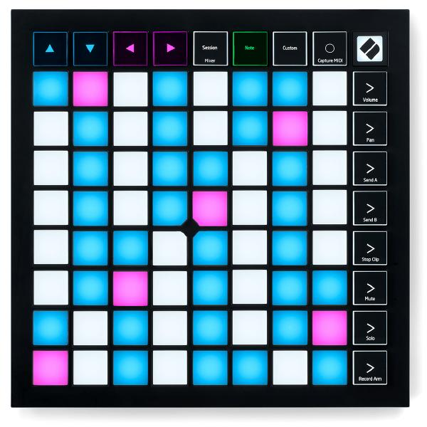 DJ контроллер Novation Launchpad X msp exp430f5529lp msp430f5529 usb launchpad