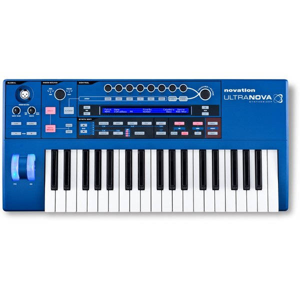 Синтезатор Novation UltraNova синтезатор novation bass station ii