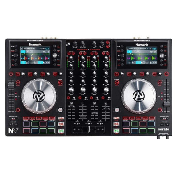 DJ контроллер Numark NV midi dj контроллер samson graphite md13