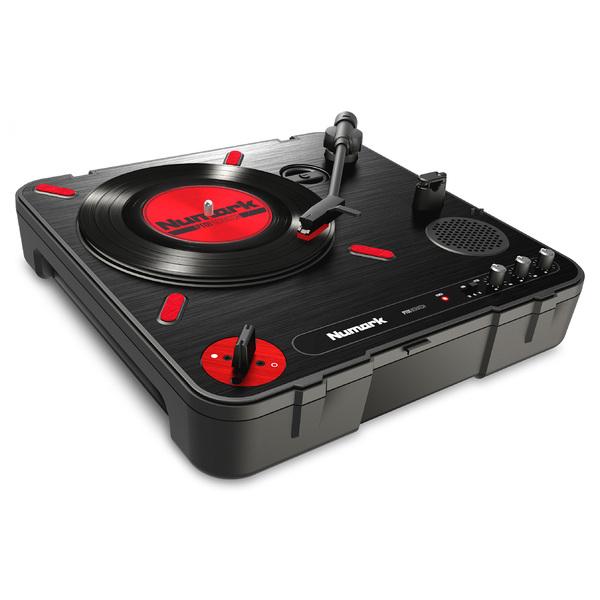DJ виниловый проигрыватель Numark PT01 Scratch проигрыватель винила с ременным приводом numark pt 01 scratch