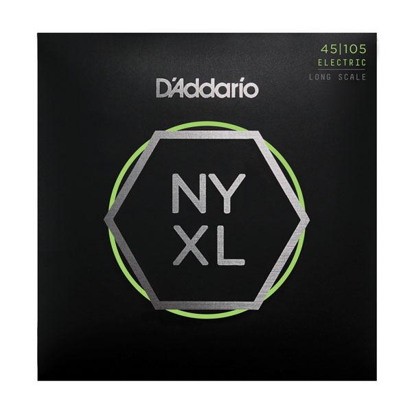 Гитарные струны D'Addario NYXL45105 (для бас-гитары) бас гитару бу в нижнем новгороди