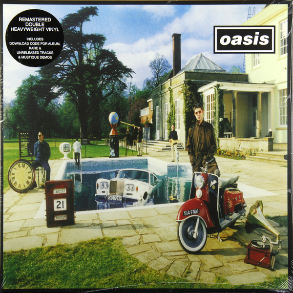 OASIS OASIS - Be Here Now (2 LP) oasis lk 10