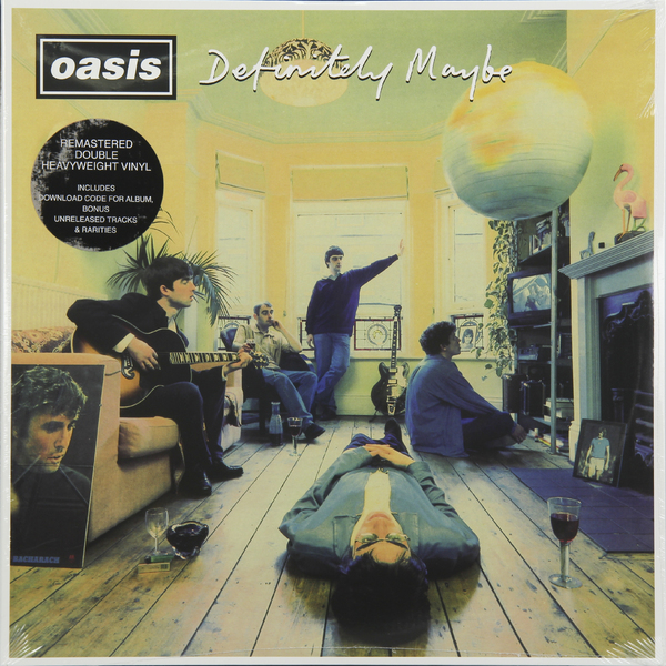 OASIS OASIS - Definitely Maybe (2 LP) oasis lk 15
