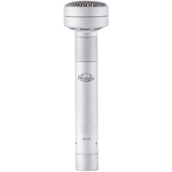 Студийный микрофон Октава МК-102 Matte Nickel (в картонной коробке)