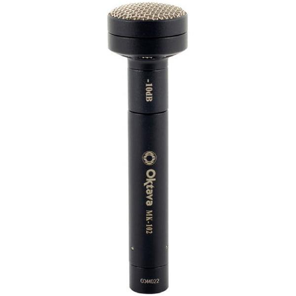 Студийный микрофон Октава МК-102 Matte Black (в картонной коробке)