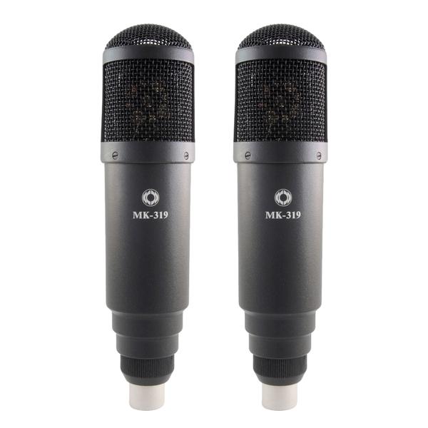 Студийный микрофон Октава МК-319 Matte Black (стереопара, в картонной коробке)
