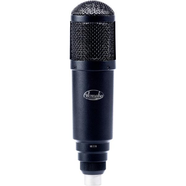 Студийный микрофон Октава МК-319 Matte Black (в деревянном футляре)