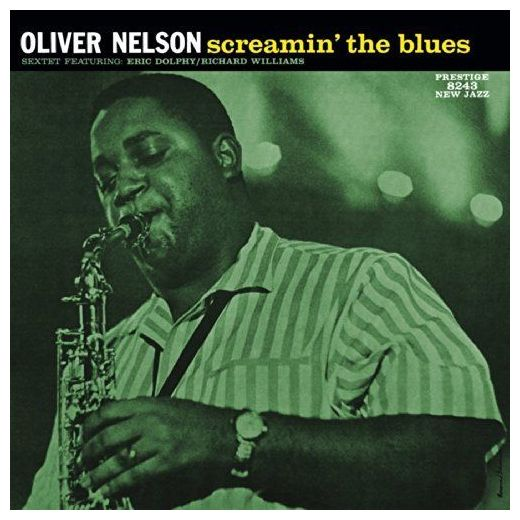 Oliver Nelson Oliver Nelson - Screamin' The Blues knit cold shoulder bottoming t shirts in black