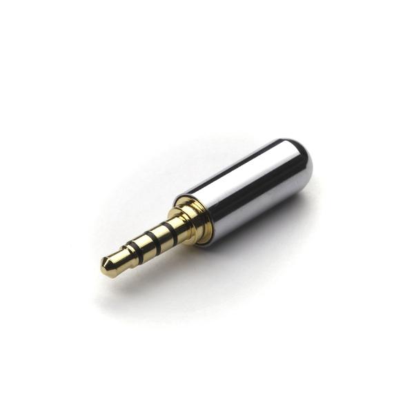 Разъем MiniJack Onetech Silver