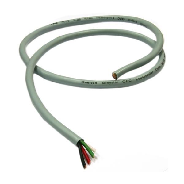 Кабель акустический в нарезку Onetech Greystal SPK0105 акустический кабель