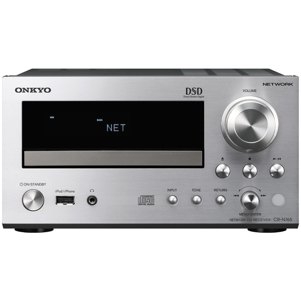 CD ресивер Onkyo CR-N765 Silver cd ресивер onkyo cr n765 silver