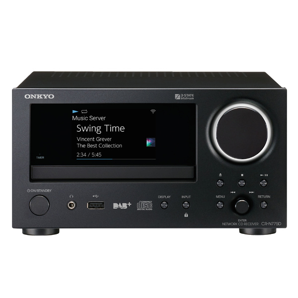CD ресивер Onkyo CR-N775D Black cd ресивер onkyo cr n765 silver