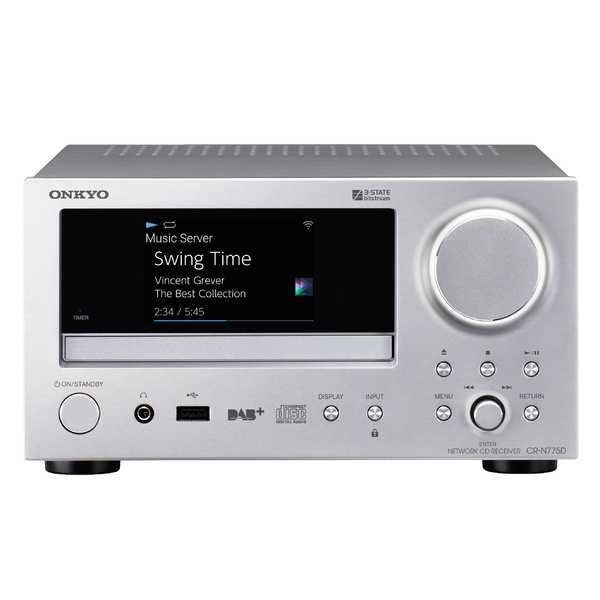 CD ресивер Onkyo CR-N775D Silver cd ресивер onkyo cr n765 silver