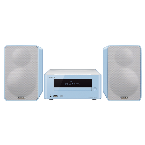Hi-Fi минисистема Onkyo CS-265 Light Blue demo шура руки вверх алена апина 140 ударов в минуту татьяна буланова саша айвазов балаган лимитед hi fi дюна дискач 90 х mp 3