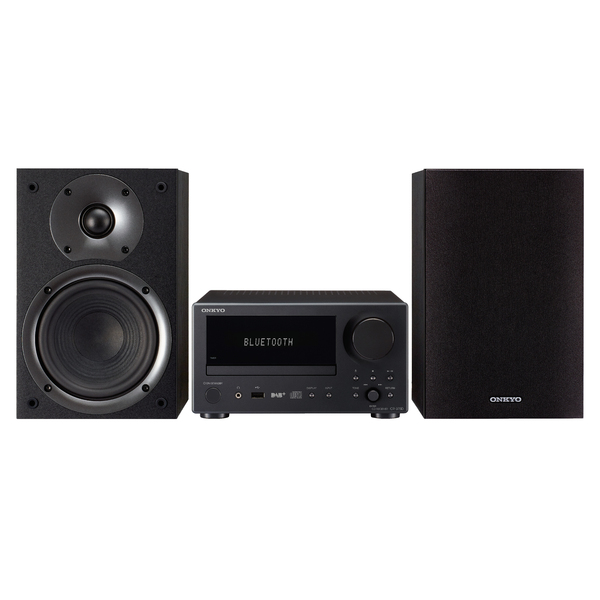 Hi-Fi минисистема Onkyo CS-375D Black cd ресивер onkyo cr n765 silver