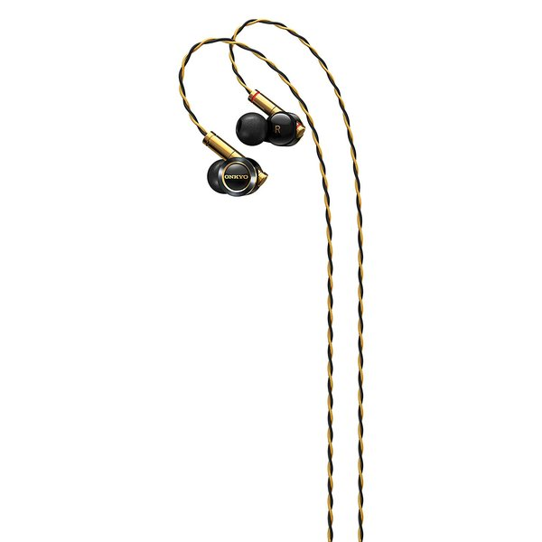 Внутриканальные наушники Onkyo E900M Black/Gold