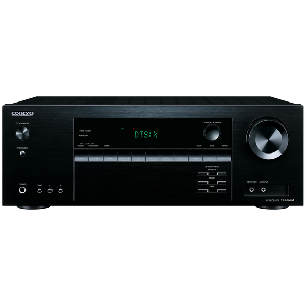 цена на AV ресивер Onkyo TX-NR474 Black
