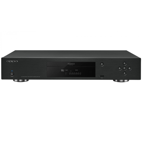 Blu-ray проигрыватель OPPO UDP-203 Black oppo udp 203 4k uhd hdr 3d hd ultra blu ray disc player usb3 0 dvd player china version 110v 220v