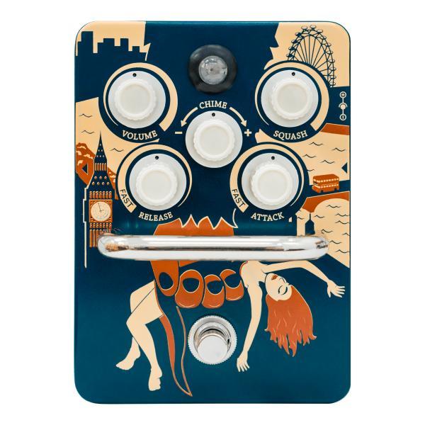 Педаль эффектов Orange Kongpressor педаль эффектов ernie ball 25k stereo volume pedal