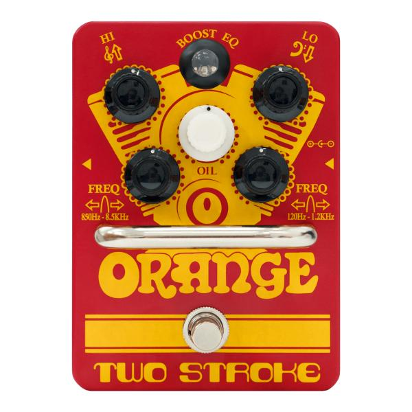 Педаль эффектов Orange Two Stroke