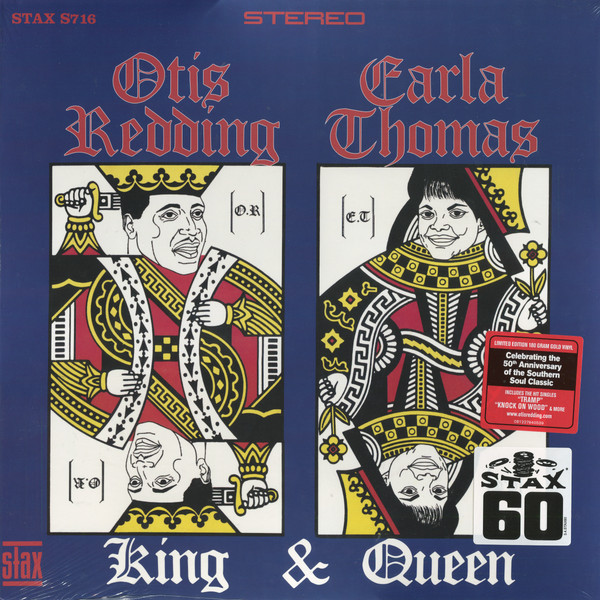 Otis Redding   Carla Thomas Otis Redding   Carla Thomas - King   Queen (50th Anniversary) (180 Gr) купить