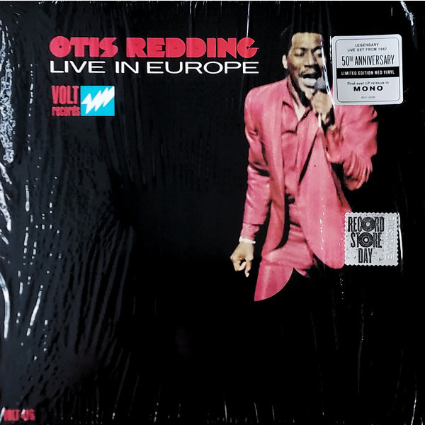 Otis Redding Otis Redding - Live In Europe (50th Anniversary) чайник со свистком rondell rds 104 schwarz
