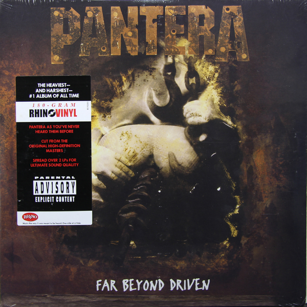 Pantera Pantera - Far Beyond Driven (2 Lp, 180 Gr) pantera pantera the great southern trendkill 2 lp 180 gr