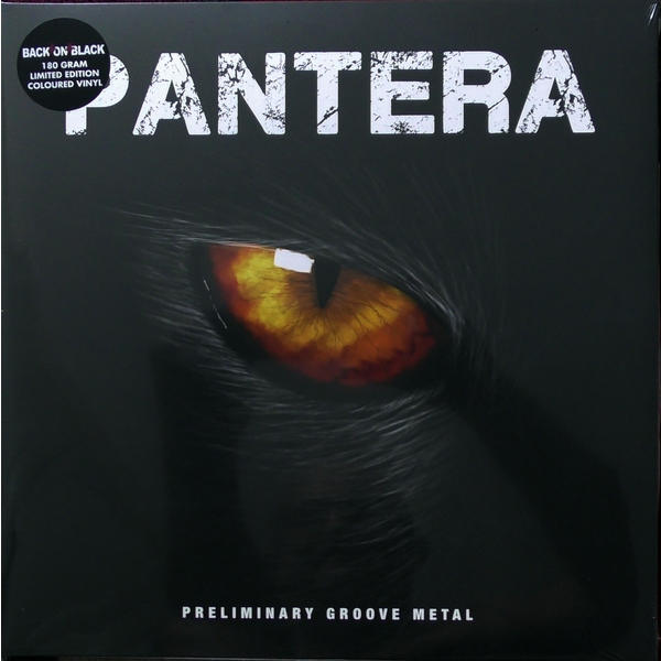 Pantera Pantera - Preliminary Groove Metal (colour) pantera pantera the great southern trendkill 2 lp 180 gr