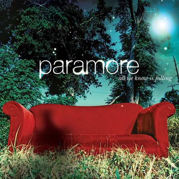 Paramore Paramore - All We Know Is Falling nao for all we know neon yellow