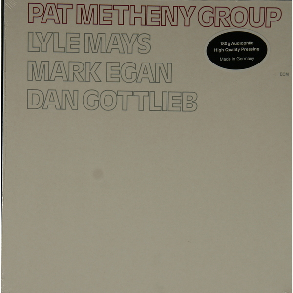 Pat Metheny Pat Metheny - Pat Metheny Group (180 Gr)