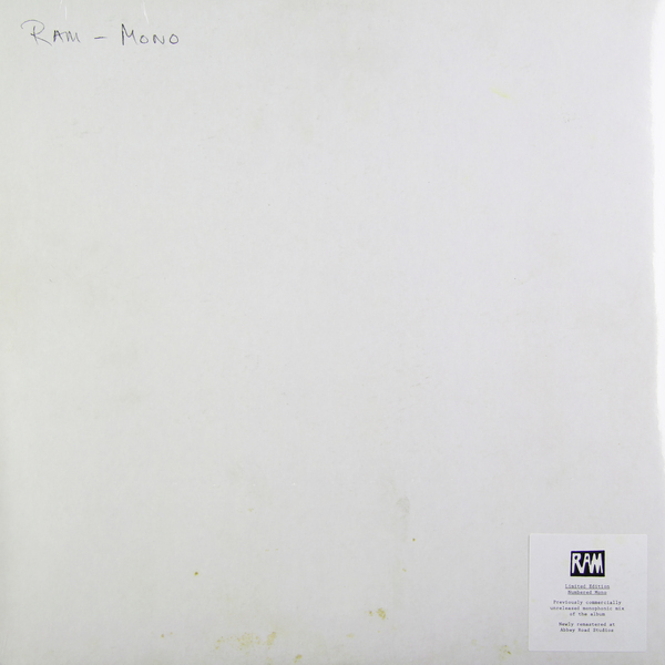 Paul Mccartney Paul Mccartney - Ram (mono) paul
