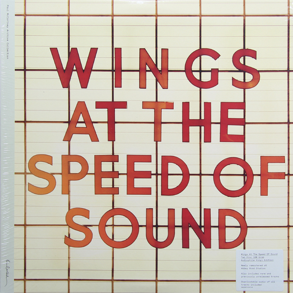 Paul Mccartney Paul Mccartney Wings - Wings At The Speed Of Sound (2 LP) chasing sound the les paul story