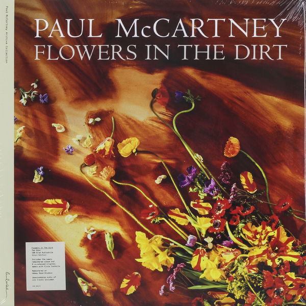 Paul Mccartney Paul Mccartney - Flowers In The Dirt (2 LP) чехол для карточек аnimals in flowers тигр дк2017 121