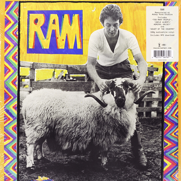 Paul Mccartney Paul Mccartney - Ram paul mccartney paul mccartney mccartney 2 lp 180 gr
