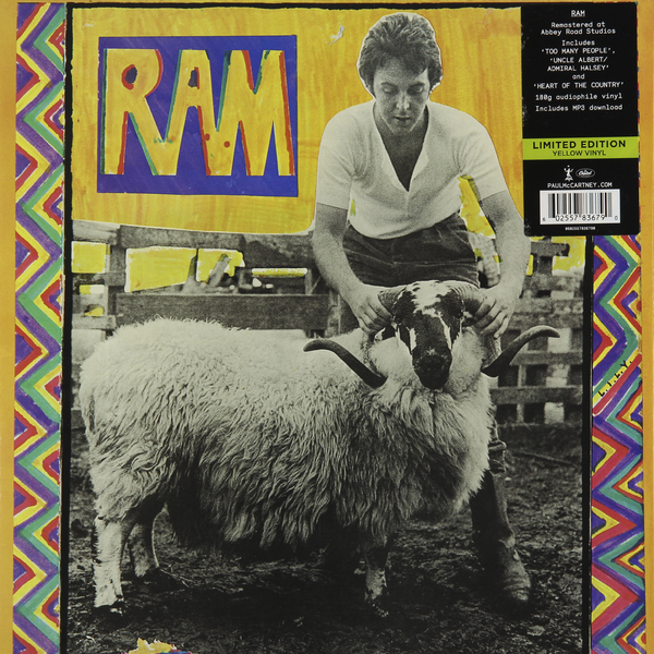 Paul Mccartney Paul Mccartney - Ram (colour) paul mccartney paul mccartney mccartney 2 lp 180 gr