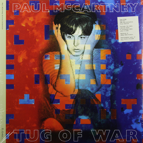 Paul Mccartney Paul Mccartney - Tug Of War (2 LP) tug of war