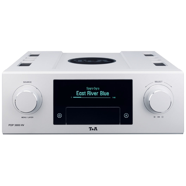 CD проигрыватель T+A PDP 3000 HV Silver cd проигрыватель t a music player balanced silver