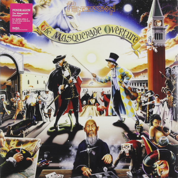 Фото - Pendragon Pendragon - The Masquerade Overture (2 LP) pendragon pendragon the window of life 21st anniversary deluxe edition 2lp
