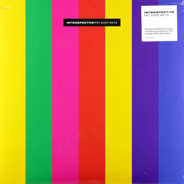 Pet Shop Boys Pet Shop Boys - Introspective (180 Gr) pet shop boys brasília