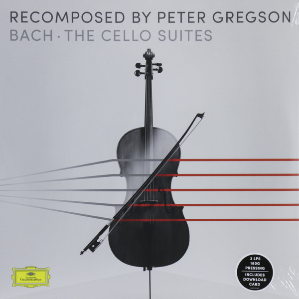 BACH BACHPeter Gregson - : The Cello Suites (recomposed) (3 LP) тим хью хидэми судзуки bournemouth sinfonietta ричард студ c p e bach cello concertos wq 170 172