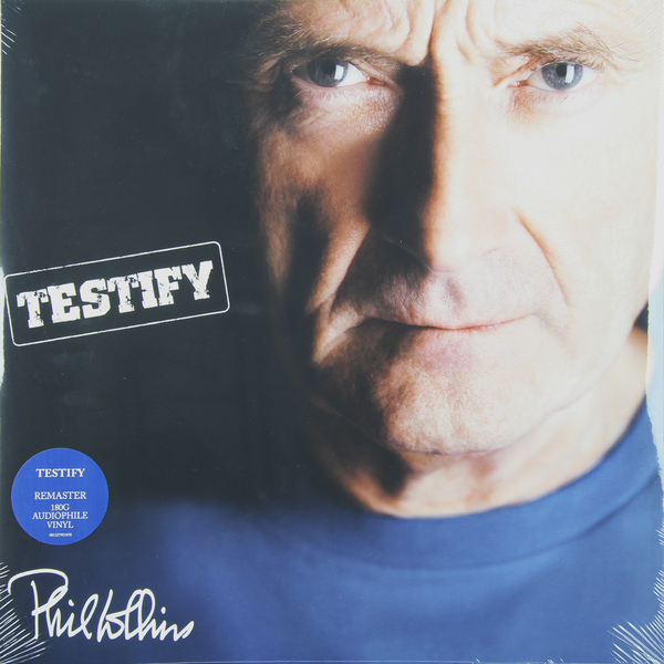 Phil Collins Phil Collins - Testify (2 LP) phil collins going back live at roseland ballroom blu ray