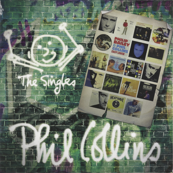 Phil Collins Phil Collins - The Singles (2 LP) cream cream the singles 1967 1970 10 lp