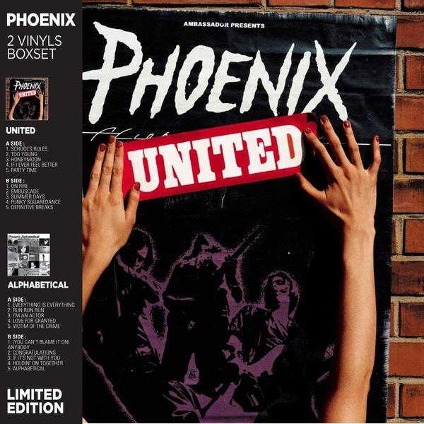 Phoenix Phoenix - United / Alphabetical (2 LP) x men phoenix endsong