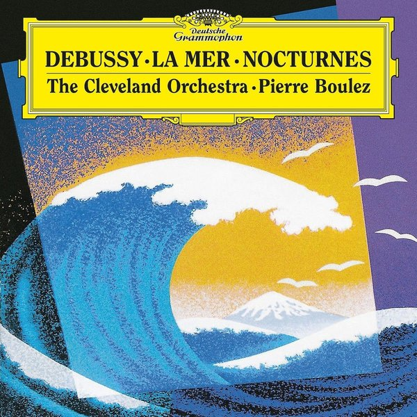 Debussy DebussyPierre Boulez - : La Mer, Nocturnes фото