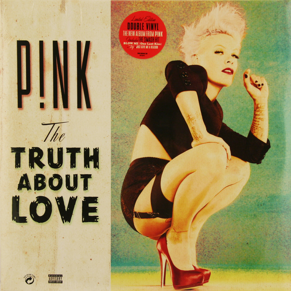PINK PINK - Truth About Love (2 LP) the truth about trump