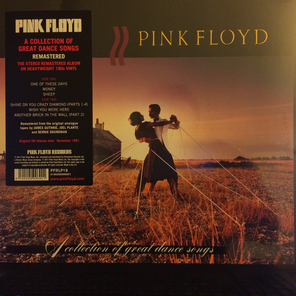 Pink Floyd Pink Floyd - A Collection Of Great Dance Songs (180 Gr) светильник natali kovaltseva 10564 3c 6958