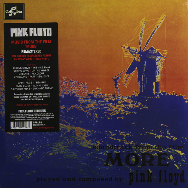 Pink Floyd Pink Floyd - More (180 Gr) cd pink floyd more