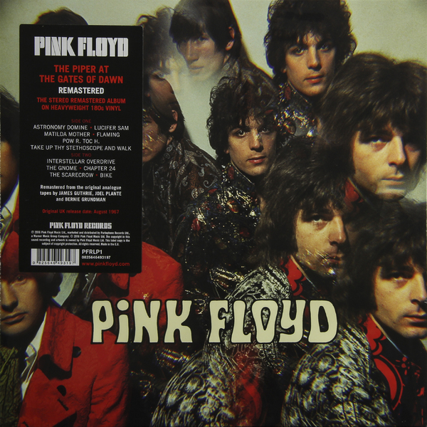 Pink Floyd Pink Floyd - The Piper At The Gates Of Dawn (180 Gr) pink floyd pink floyd the dark side of the moon lp