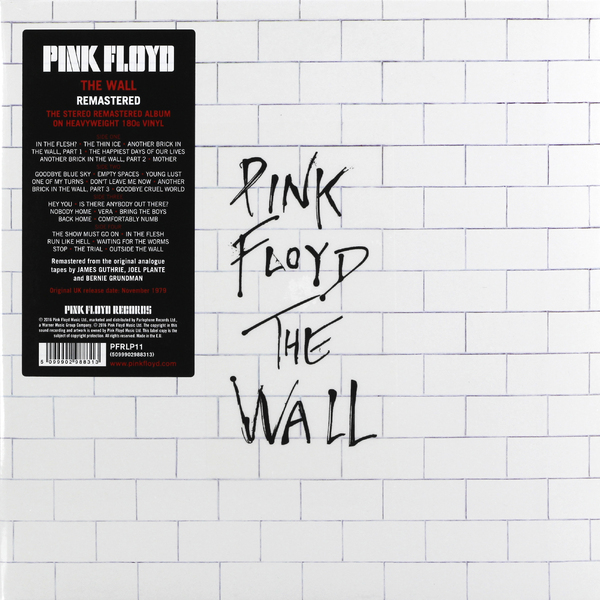 все цены на Pink Floyd Pink Floyd - The Wall (2 Lp, 180 Gr)